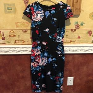 Betray Johnson midi floral dress
